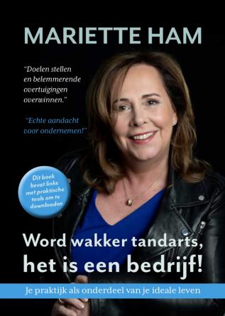 Boek Word wakker tandarts - Mariette Ham